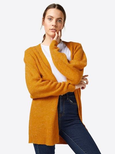 ICHI Cardigan 'NOVO' in orange, Modelansicht