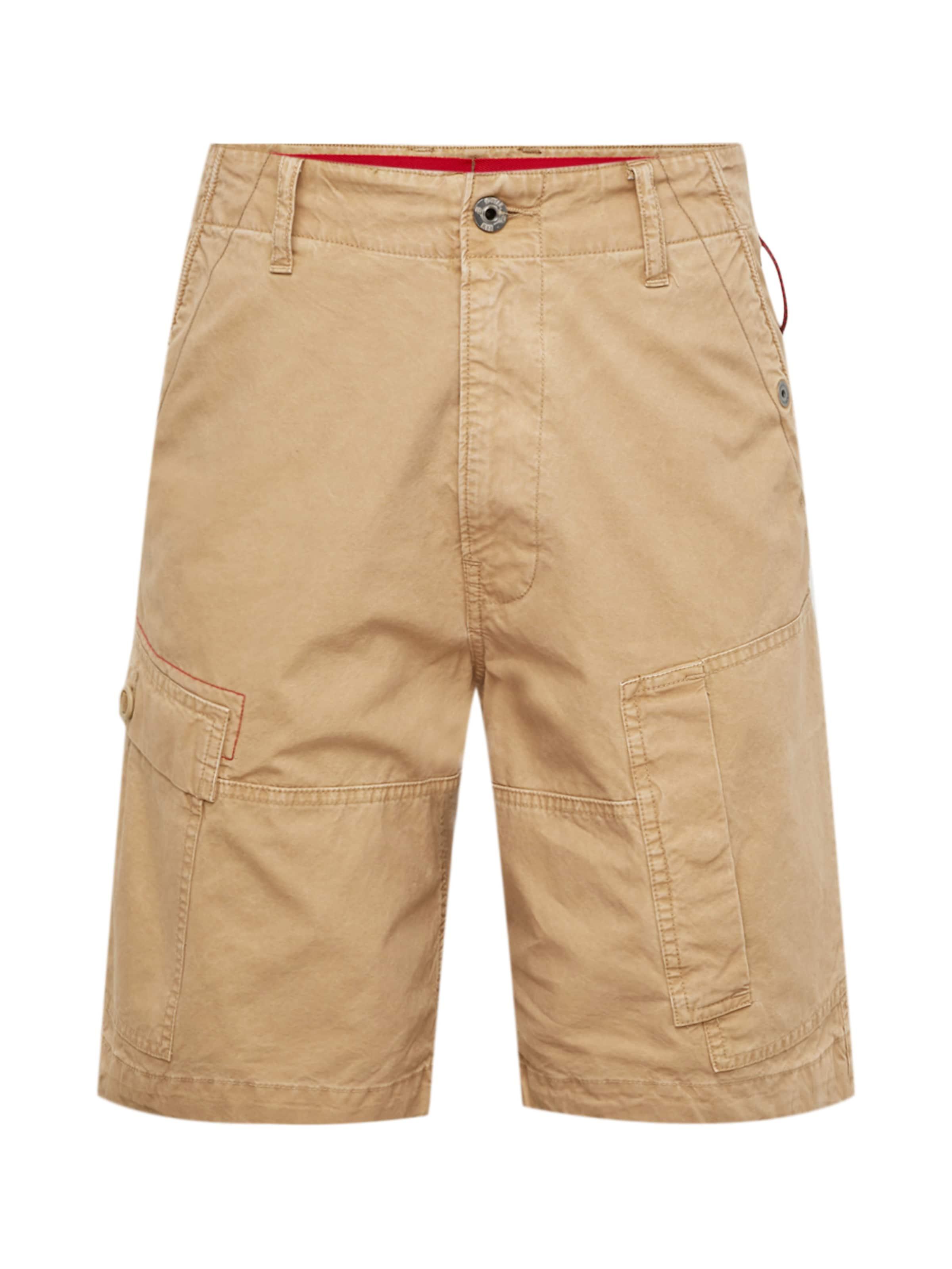 Hellbeige G In Shorts Raw star mvnON8w0