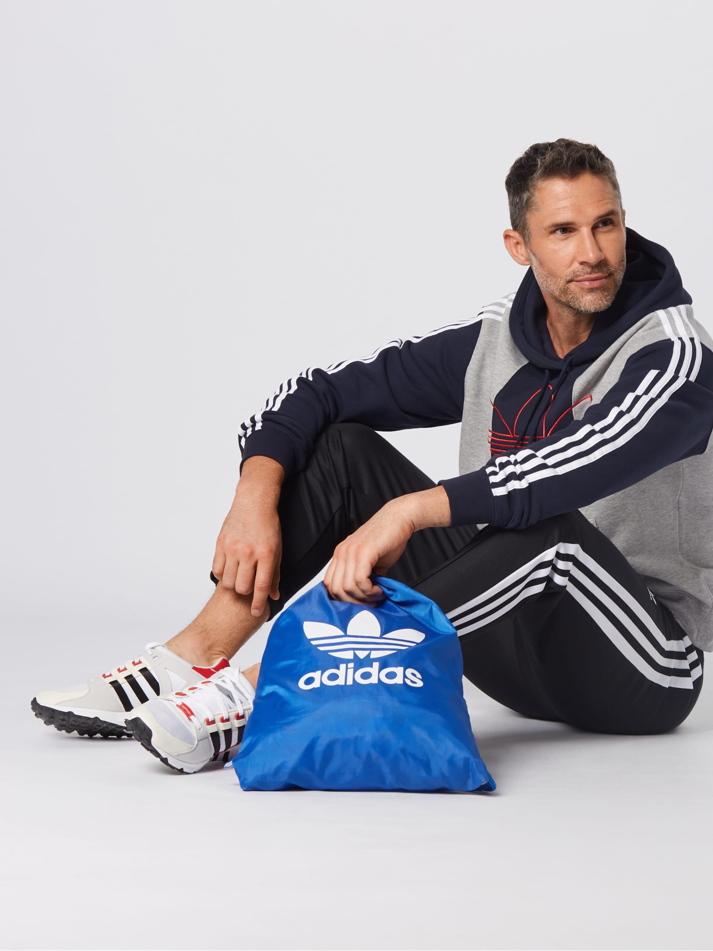 En 'off Court Adidas shirt Trefoil' Originals Bleu Sweat FoncéGris wOn8P0k