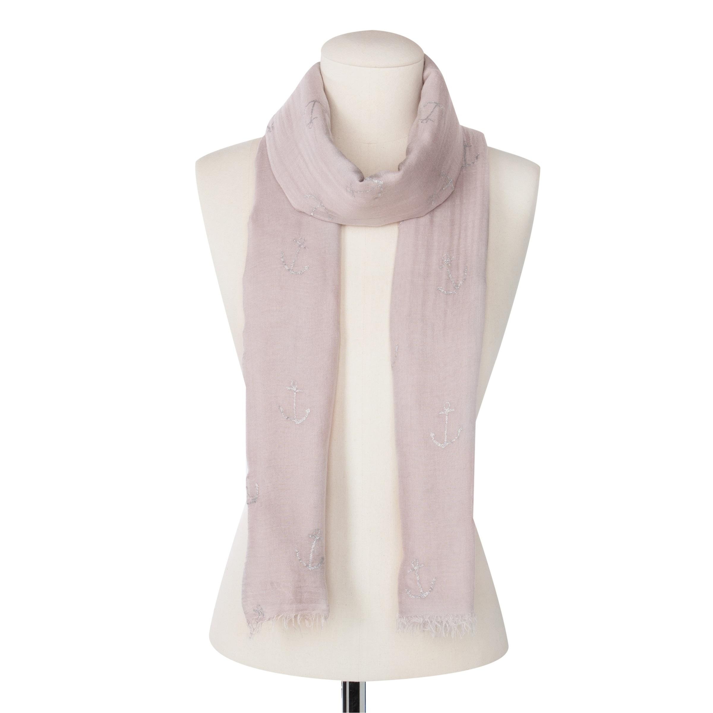 Preiswerte Neue Ankunft CODELLO Schal mit Foilprint Billig Verkauf Geschäft lqETvs8X