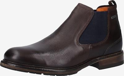 FRETZ MEN Stiefelette in kastanienbraun / schwarz, Produktansicht