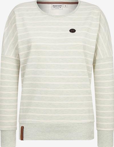 naketano Majica | pastelno zelena / bela barva, Prikaz izdelka