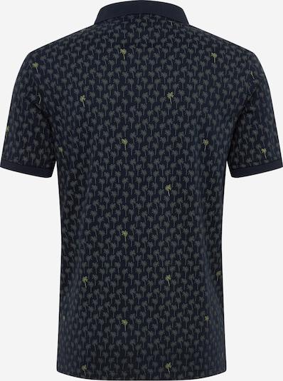 Banana Republic Poloshirt 'PERF LUX PALM PRINT POLO' in navy, Produktansicht