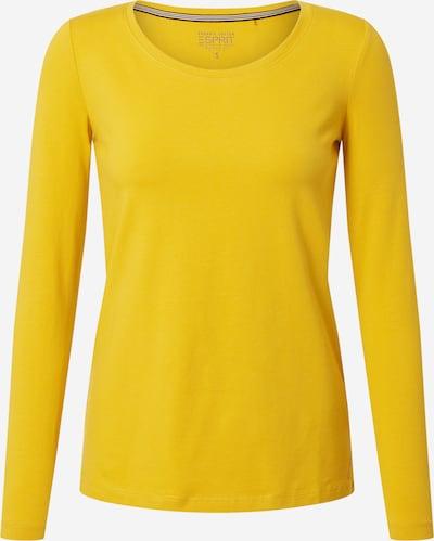 ESPRIT T-Krekls 'Noos' pieejami zeltaini dzeltens: Priekšējais skats