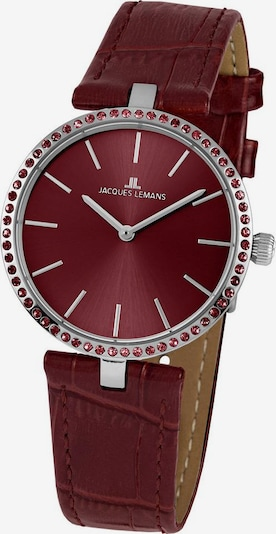Jacques Lemans Analog Watch 'Milano' in Blood red / Silver, Item view