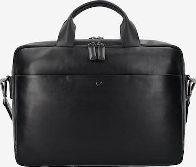 Braun Büffel Aktentasche 'Livorno L' in schwarz, Produktansicht