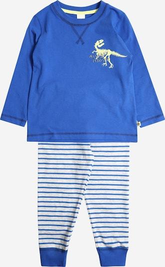 SANETTA Pyjama in blau / weiß, Produktansicht