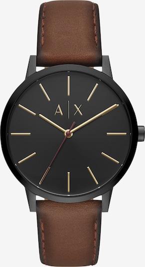 Emporio Armani Uhr 'AX2706' in braun / schwarz, Produktansicht