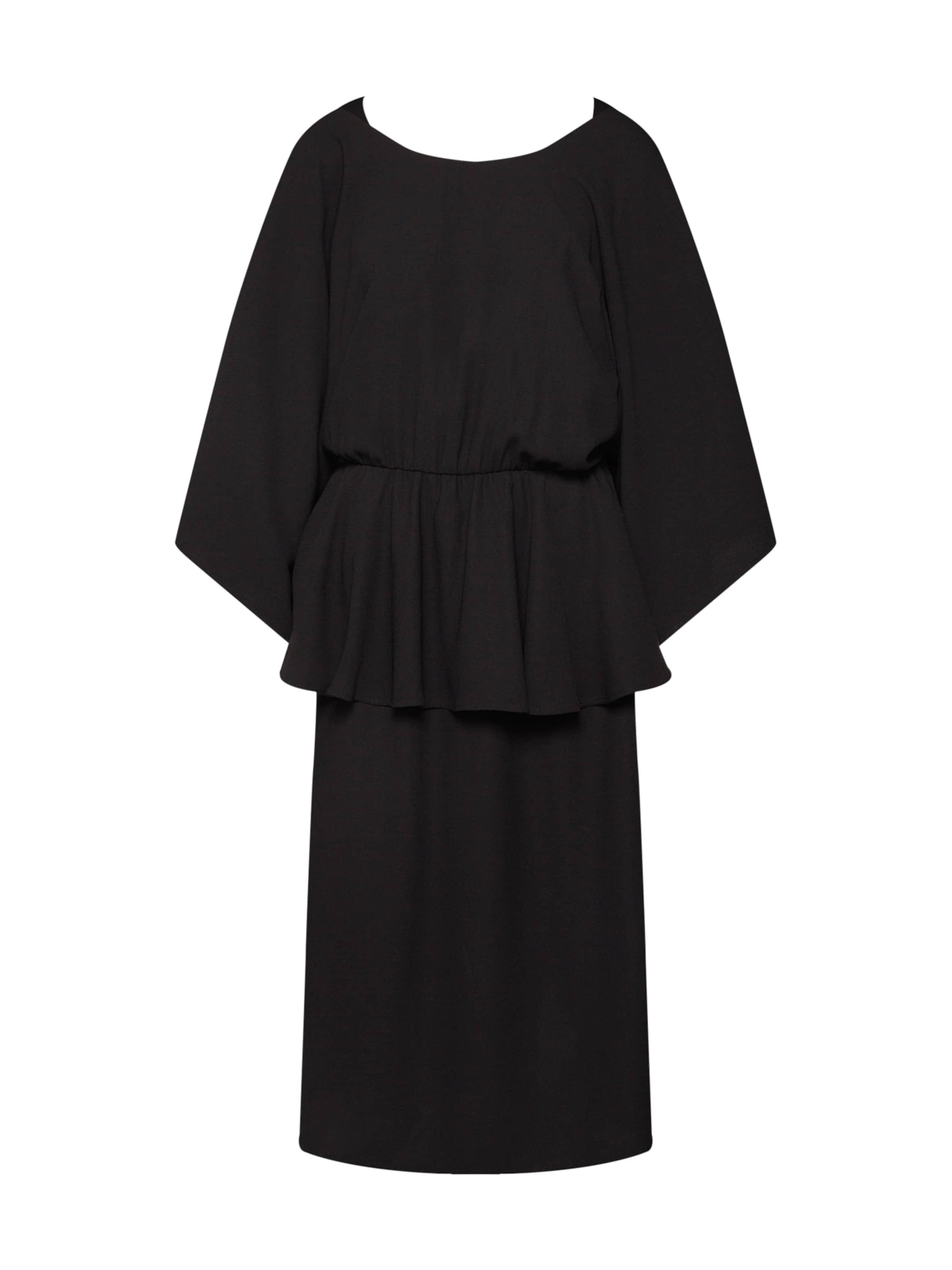 En Noir Na kd De 'deep Frill' Back Robe Cocktail hQdBsrCtx