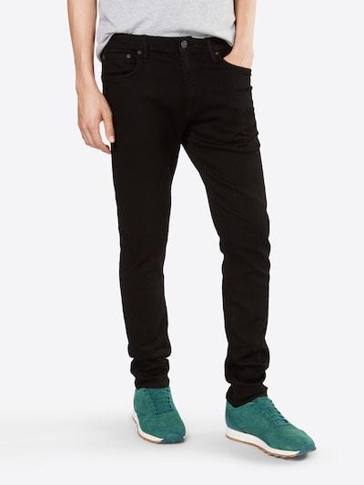 JACK & JONES Jeans 'JJIGLENN JJFELIX AM 046 LID NOOS' in de kleur Zwart, Modelweergave