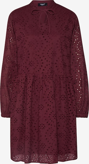 SISTERS POINT Sukienka 'VILKE-DR' w kolorze bordowym: Widok z przodu