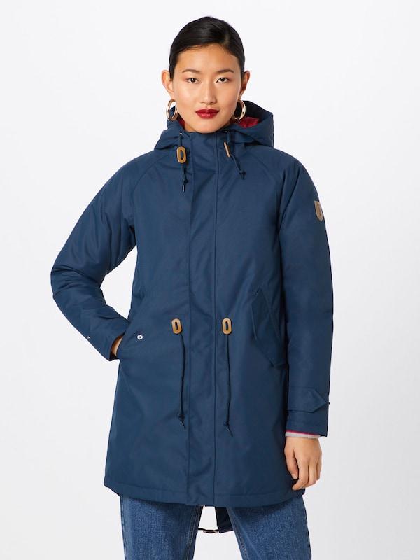 Manteau D'hiver Bleu Winter' Derbe En 'watt´n Marine FKJl1c