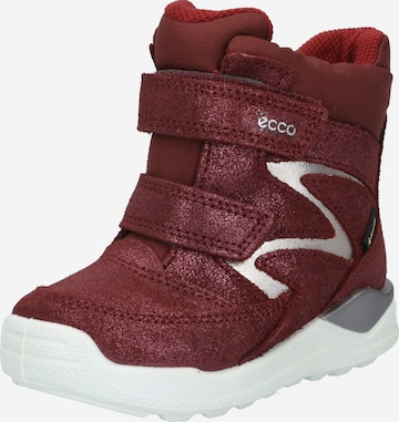 ECCO Snow Boots in Red
