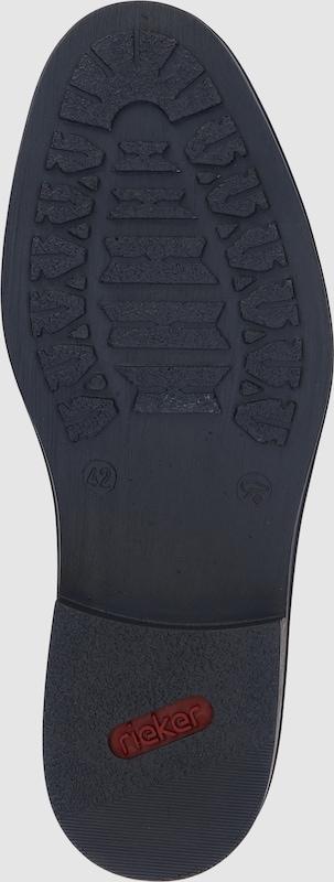 RIEKER Slipper mit Elastikeinsatz Verschleißfeste billige Schuhe