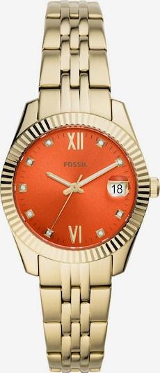 FOSSIL Uhr 'Scarlette mini, ES4904' in gold / orange, Produktansicht