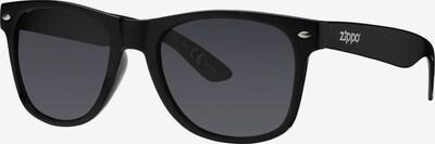 ZIPPO Sonnenbrille polarized 'Smoke Flash Black' in schwarz, Produktansicht