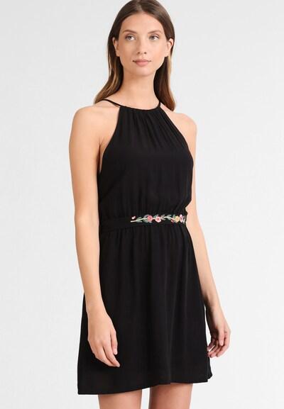 DREIMASTER Damen Kleid in schwarz: Frontalansicht