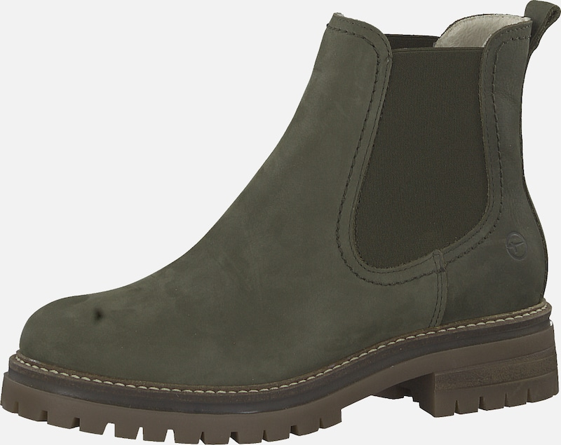 RIEKER Stiefelette in kastanienbraun khaki | ABOUT YOU