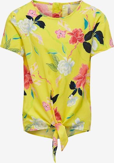 KIDS ONLY Shirt 'Ella' in gelb / mischfarben, Produktansicht