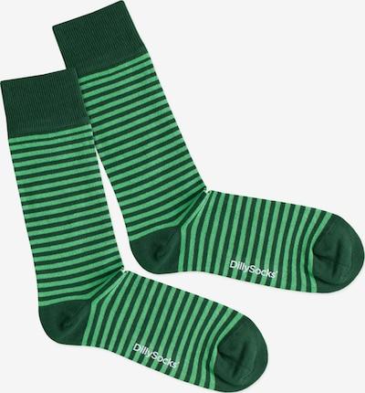 DillySocks Skarpety 'Green Ring' w kolorze zielonym, Podgląd produktu