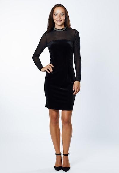 Young Couture by BARBARA SCHWARZER Kleid in schwarz, Modelansicht