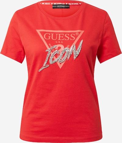 GUESS T-Shirt in rot, Produktansicht