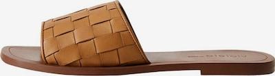 VIOLETA by Mango Sandaletten 'Min Trenza' in braun, Produktansicht