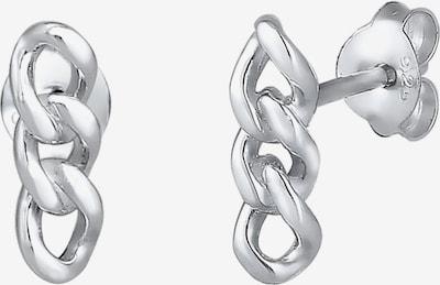 ELLI Oorbellen 'Basic' in de kleur Zilver: Vooraanzicht