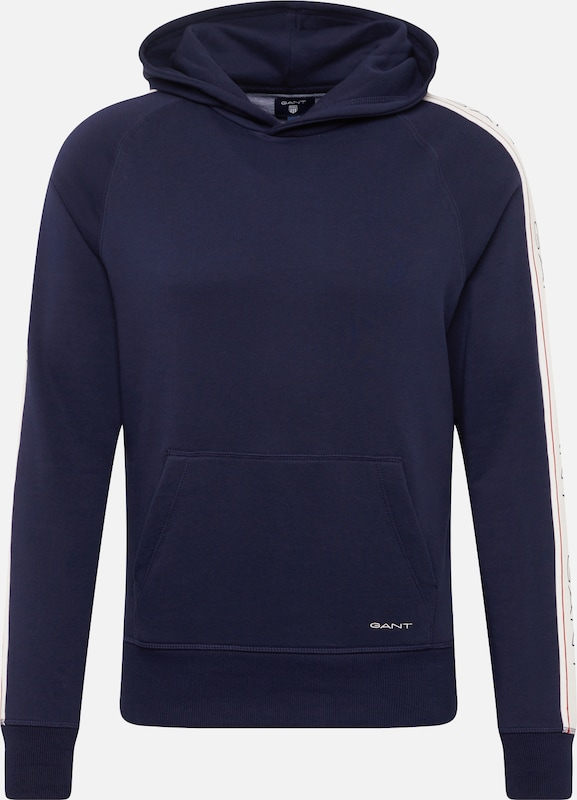 En shirt Bleu Sweat Gant MarineBlanc l1cuTFJ35K