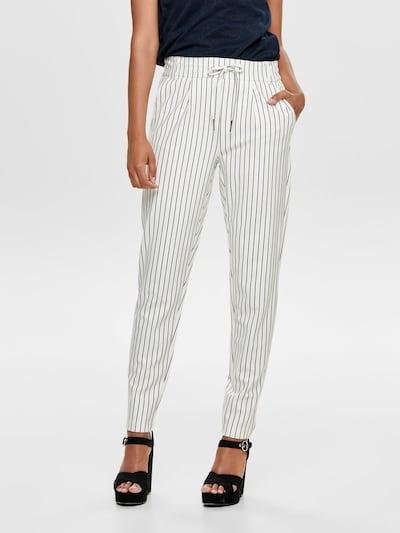 ONLY Hose in schwarz / weiß, Modelansicht