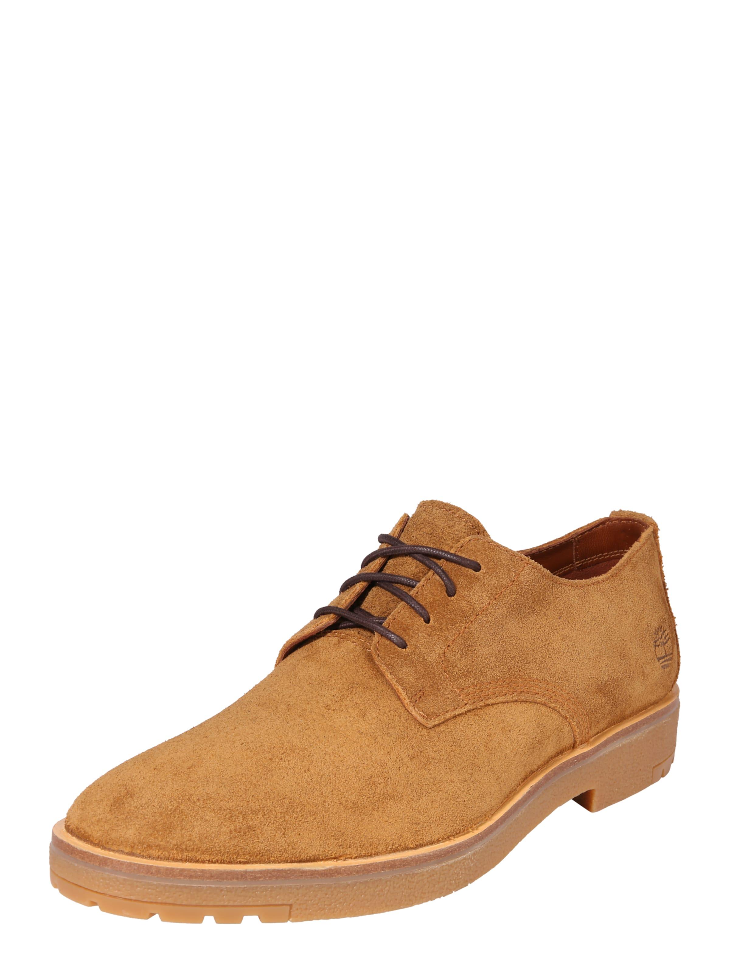 Gentleman Ox' Lacets Chaussure En 'folk Timberland Cognac À Sv1wqI