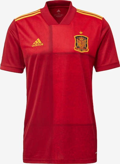 ADIDAS PERFORMANCE Tricot 'FEF Spanien Home EM 2020' in de kleur Goudgeel / Rood, Productweergave