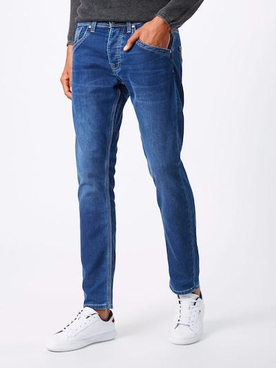 Pepe Jeans Jeans 'Track' in de kleur Blauw denim, Modelweergave