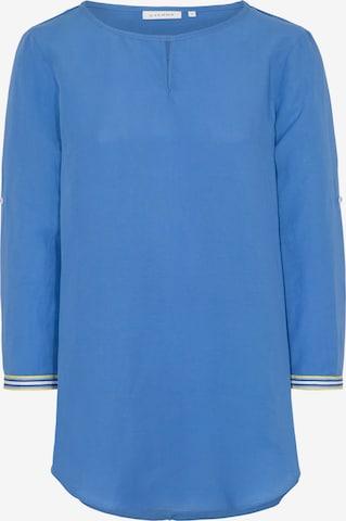 ETERNA Dreiviertelarm Bluse MODERN CLASSIC in Blau