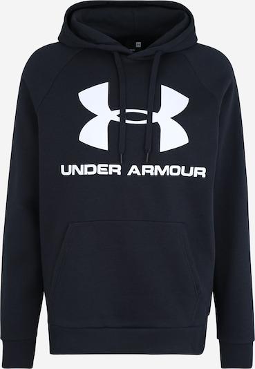 UNDER ARMOUR Sportsweatshirt 'Rival' in schwarz / weiß, Produktansicht