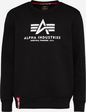 ALPHA INDUSTRIESSweater majica - crna boja