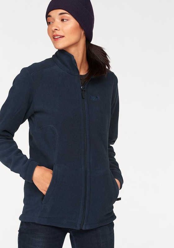 JACK WOLFSKIN Fleecejacke 'MIDNIGHT MOON'