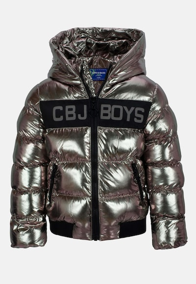 CIPO & BAXX Winterbomberjacke in schwarz / silber, Produktansicht
