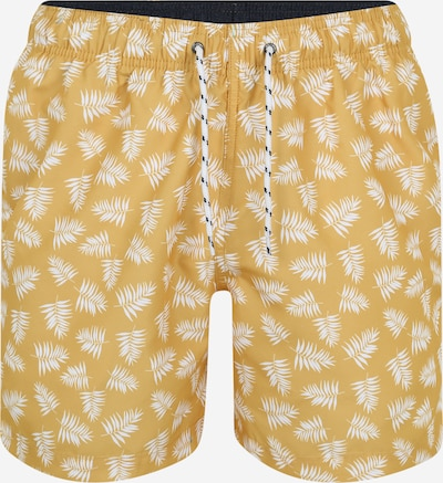 G.I.G.A. DX by killtec Boardshorts 'Paloro' in de kleur Geel / Wit, Productweergave