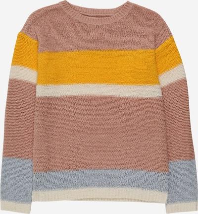 KIDS ONLY Trui 'KONMACY' in de kleur Blauw / Geel / Rosé, Productweergave
