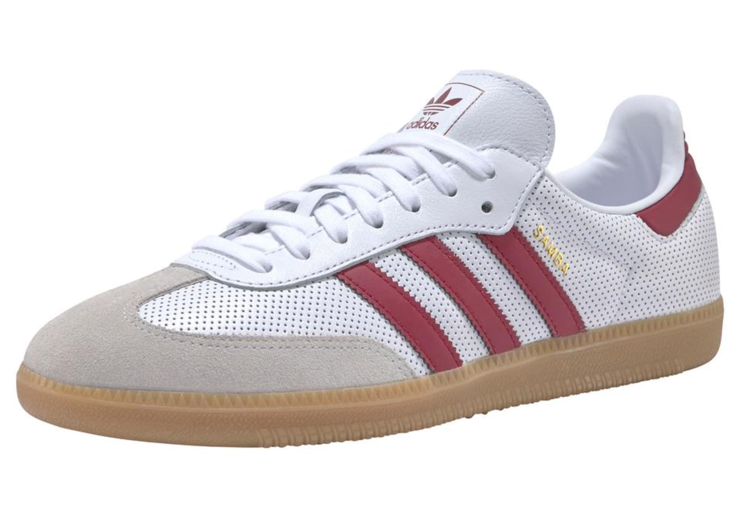 Adidas Originals Sneaker 'samba Og' MerlotWeiß In wk8OPn0