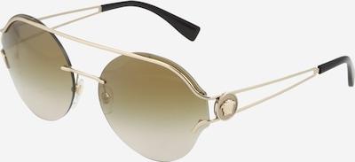 VERSACE Casual Sonnenbrille im Piloten-Style in braun / gold, Produktansicht