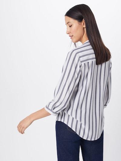 ABOUT YOU Bluse 'Hanna' in blau / weiß: Rückansicht