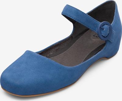 CAMPER Ballerinas 'Serena' in blau: Frontalansicht