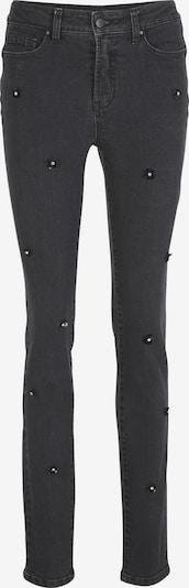 heine Jeans 'Aleria' in de kleur Black denim: Vooraanzicht