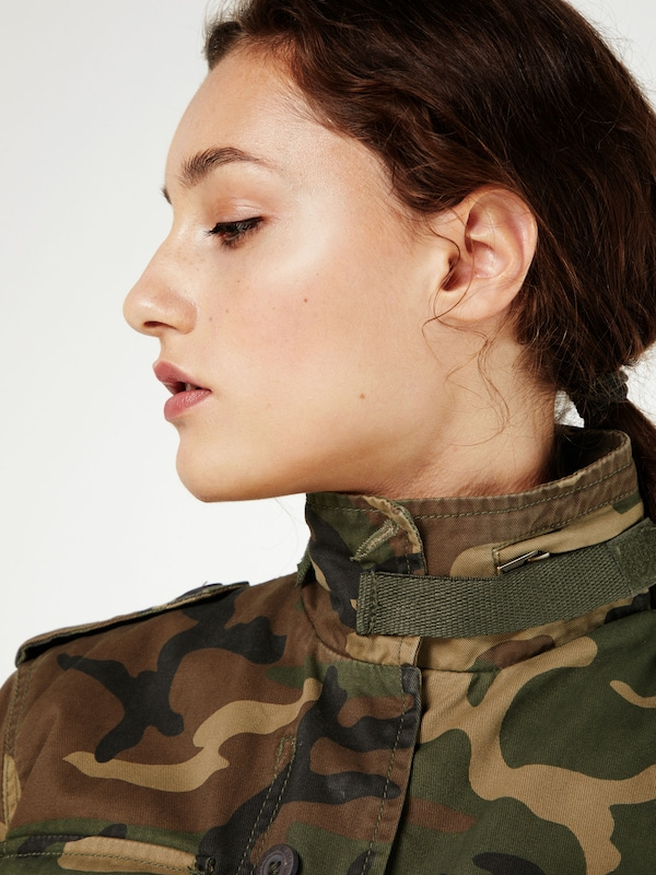 ALPHA INDUSTRIES Camouflage Jacke