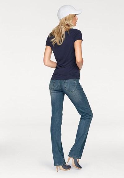 ARIZONA 5-Pocket-Jeans 'Gerade-Form mit komfortabler Leibhöhe' in blau, Produktansicht
