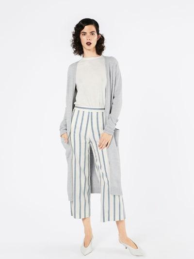 VILA Strikjakke 'Ril' i grå, Modelvisning