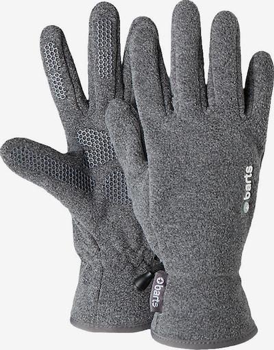 Barts Fingerhandschuhe in graumeliert / weiß, Produktansicht