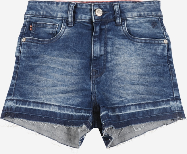 Cars Jeans Jeansshorts in blue denim, Produktansicht